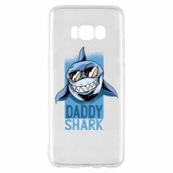 Чехол для Samsung S8 Daddy shark