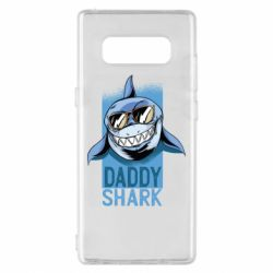 Чехол для Samsung Note 8 Daddy shark