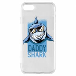 Чехол для iPhone 8 Daddy shark