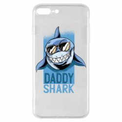 Чехол для iPhone 8 Plus Daddy shark