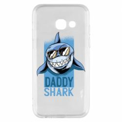 Чехол для Samsung A3 2017 Daddy shark