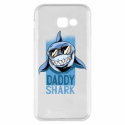 Чехол для Samsung A5 2017 Daddy shark