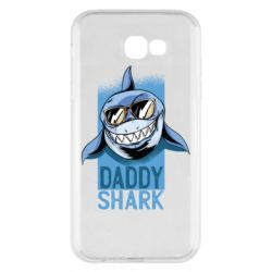 Чехол для Samsung A7 2017 Daddy shark