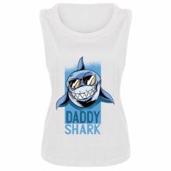 Майка жіноча Daddy shark
