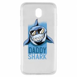 Чехол для Samsung J7 2017 Daddy shark