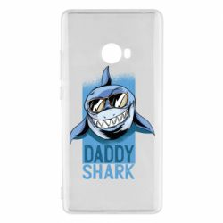 Чехол для Xiaomi Mi Note 2 Daddy shark