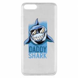 Чехол для Xiaomi Mi Note 3 Daddy shark