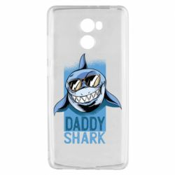 Чехол для Xiaomi Redmi 4 Daddy shark