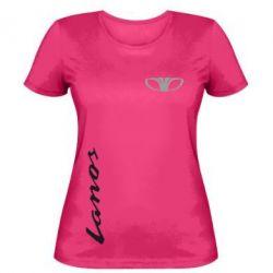 Женская футболка Daewoo Lanos - FatLine