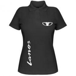 Женская футболка поло Daewoo Lanos - FatLine