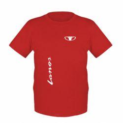 Детская футболка Daewoo Lanos