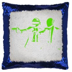 Подушка-хамелеон Daft Punk group