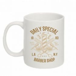 Кружка 320ml Daily Special Barber Shop