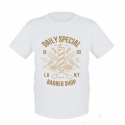 Дитяча футболка Daily Special Barber Shop