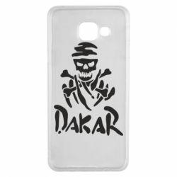 Чехол для Samsung A3 2016 DAKAR LOGO