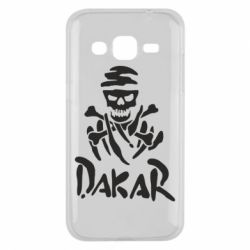 Чехол для Samsung J2 2015 DAKAR LOGO