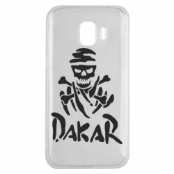 Чехол для Samsung J2 2018 DAKAR LOGO