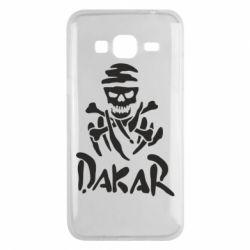 Чехол для Samsung J3 2016 DAKAR LOGO