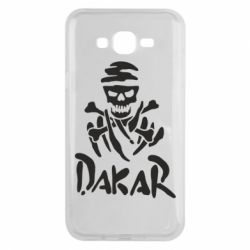 Чехол для Samsung J7 2015 DAKAR LOGO