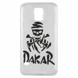 Чохол для Samsung S5 DAKAR LOGO