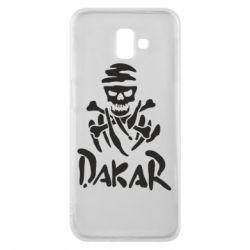 Чехол для Samsung J6 Plus 2018 DAKAR LOGO