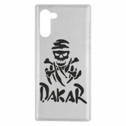 Чохол для Samsung Note 10 DAKAR LOGO