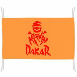 Флаг DAKAR LOGO