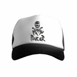 Детская кепка-тракер DAKAR LOGO