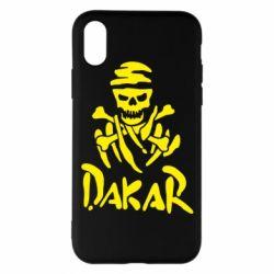 Чехол для iPhone X/Xs DAKAR LOGO