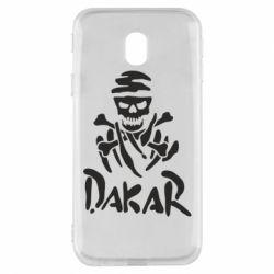 Чехол для Samsung J3 2017 DAKAR LOGO
