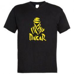 Мужская футболка  с V-образным вырезом Dakar - FatLine