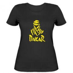 Жіноча футболка Dakar - FatLine