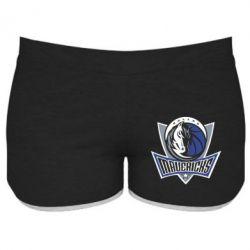 Женские шорты Dallas Mavericks - FatLine