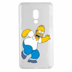 Чехол для Meizu 15 Plus Dance, Homer! - FatLine