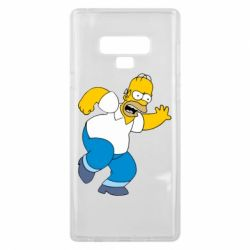 Чехол для Samsung Note 9 Dance, Homer! - FatLine