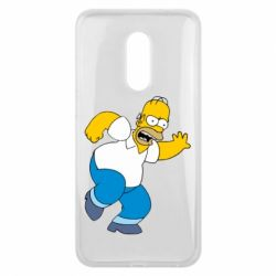 Чехол для Meizu 16 plus Dance, Homer! - FatLine