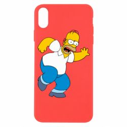 Чехол для iPhone X Dance, Homer! - FatLine