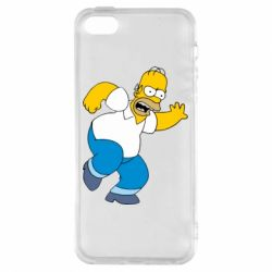 Чехол для iPhone5/5S/SE Dance, Homer! - FatLine