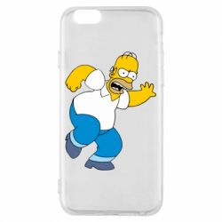 Чехол для iPhone 6/6S Dance, Homer! - FatLine