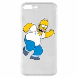 Чехол для iPhone 8 Plus Dance, Homer! - FatLine