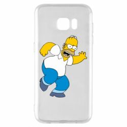 Чехол для Samsung S7 EDGE Dance, Homer! - FatLine