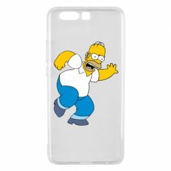 Чехол для Huawei P10 Plus Dance, Homer! - FatLine