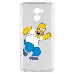 Чехол для Xiaomi Redmi 4 Dance, Homer! - FatLine