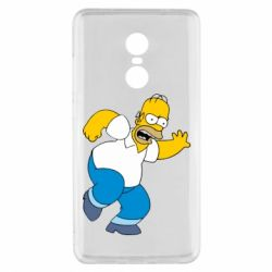 Чехол для Xiaomi Redmi Note 4x Dance, Homer! - FatLine