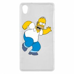 Чехол для Sony Xperia Z2 Dance, Homer! - FatLine