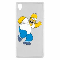 Чехол для Sony Xperia Z3 Dance, Homer! - FatLine