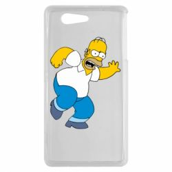 Чехол для Sony Xperia Z3 mini Dance, Homer! - FatLine