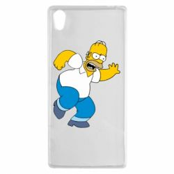 Чехол для Sony Xperia Z5 Dance, Homer! - FatLine