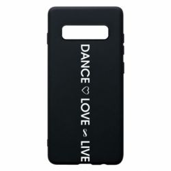Чехол для Samsung S10+ Dance love live