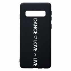 Чехол для Samsung S10 Dance love live